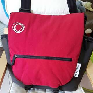 Bugaboo Diaper Bag  Tailored Fleece Cover Red