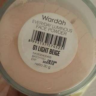 Face powder Wardah