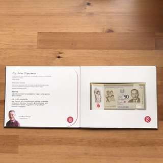Limited edition SG50 Commemorative Notes