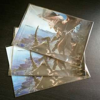 PS4 Monster Hunter World Controller Stickers