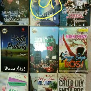 Koleksi preloved novels