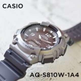 Montres Company香港註冊公司(25年老店) CASIO standard AQ-S810 AQ-S810W AQ-S810W-1 AQ-S810W-1A4 九隻色都有現貨 AQS810 AQS810W AQS810W1 AQS810W1A4