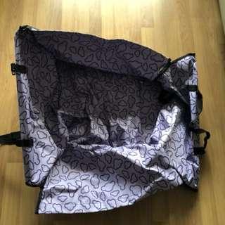 Dog car seat carrier