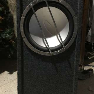 Amplifier and Sub woofer