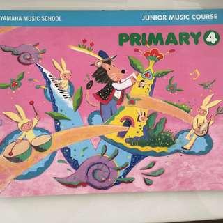 Yamaha Junior Music Book 4
