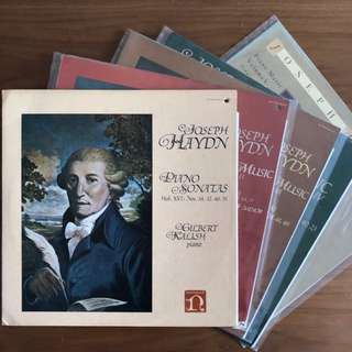 Haydn Piano Music Gilbert Nonesuch 5-LP set