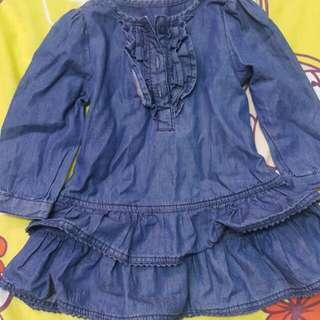 Preloved Early Days Denim Dress