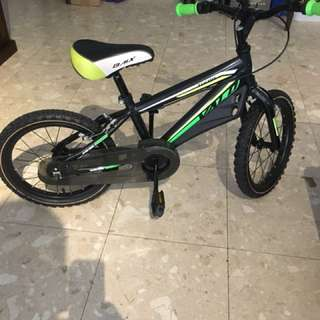 Kids BMX bike 16 inch wheels 5-7 year old