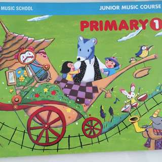 Yamaha Junior Music Book 1