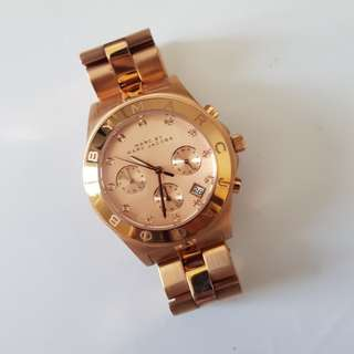 Marc Jacobs Blade Watch Rose Gold