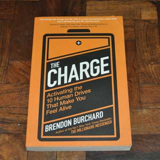 The Charge by Brendon Burchard (Shipping Included)