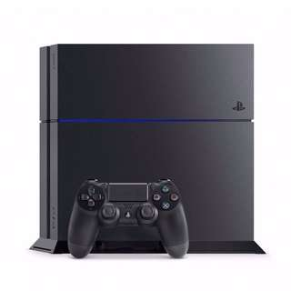 PS4 Sony Playstation 4 Fat with free 1 game
