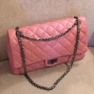Chanel leather special pink