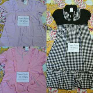 PRELOVED BLOUSE&DRESS MENGANDUNG