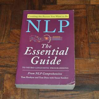 NLP The Essential Guide (Shipping Included)