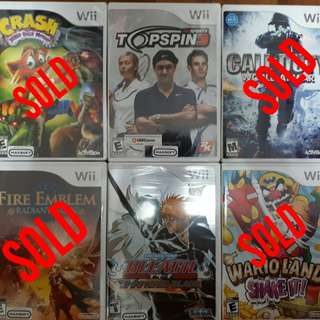 Wii Games (Cheap & Brand New)