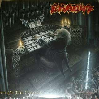 Vinyl Record / 2xLP (Sealed): Exodus  ‎– Tempo Of The Damned - 2008 UK Pressing, BOBV083LP