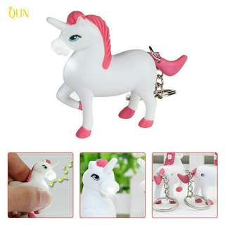 Unicorn Keychain with Lights and Sounds