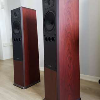 Mission 752 speakers (rosewood)