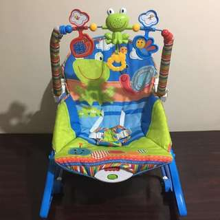 Fisher Price Infant to Toddler Baby Rocker