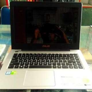 Laptop gaming asus a456ur