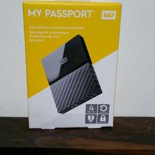 WD My Passport Ultra 4TB