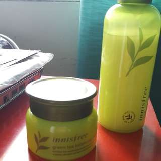 set innisfree green tea