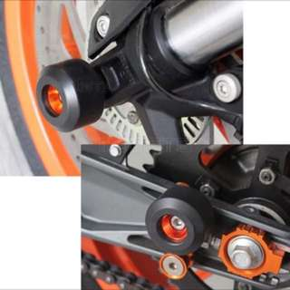 Ktm Duke 390 125 axle & wheel sliders