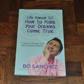 Life Manual 101 by Bo Sanchez (Shipping Included)