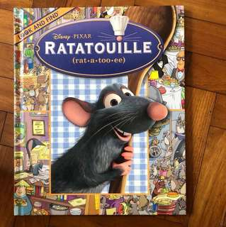 Ratatouille- look and find