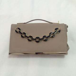 [Free Ship] Clutch/Sling bag River Island