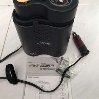 AirMan air pump (with carry bag)