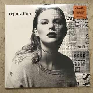 Taylor Swift Reputation Color Vinyl