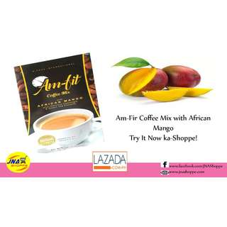 Am-fit Coffee Mix with African Mango and Garcinia Cambogia