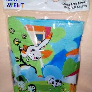Philipsn Avent Hooded Towel Bath Towel