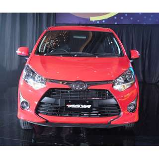 PROMO Toyota NEW Agya 1.2 G DP 20jt-an Angsuran 2jt-an