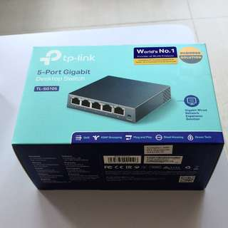 TP Link 5 Port Gigabit Desktop Switch