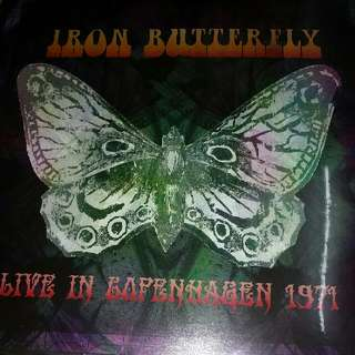 Vinyl Record / 2xLP (Sealed): Iron Butterfly–Live In Copenhagen 1971