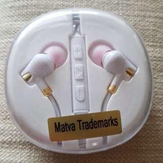 Matva Trademark Earpiece Earphones