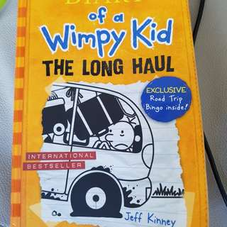 Wimpy kid-the long haul