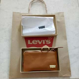 BN Levi's Keychain Coin Pouch/Purse (with Free Paper Bag)