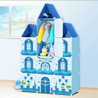10 Cubes Castle Cabinet