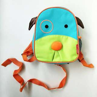 Authentic Skip Hop Zoo Dog Mini Back Pack with Rein