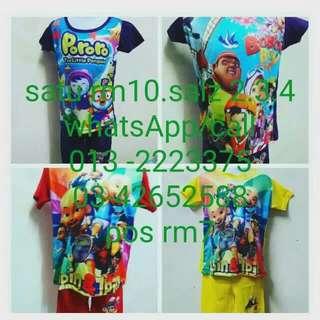 Baju budak RM10...kalau borong satu RM8...0132223375