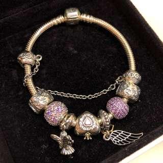 *情人節推介* 全新 Pandora bracelet (未用過)