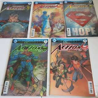 Superman Action Comics #987 - #991