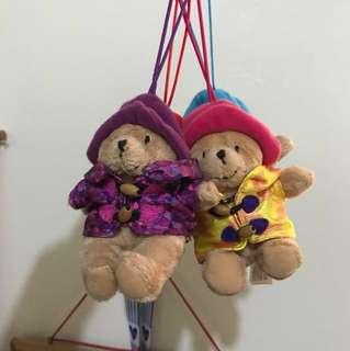 🚚 伯林頓寶寶熊4隻