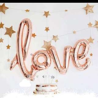 ❤️ Love balloon 連體氣球