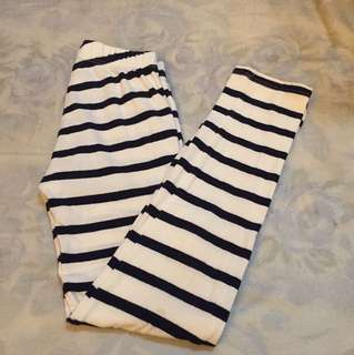 Gap stripe pants