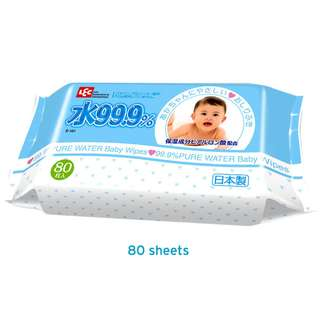 DELIVER LEC (Everyday) Baby Wipes (80s x 24)